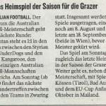 Kleine Zeitung 22.07.2010 - jpg